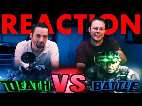 Solid Snake VS Sam Fisher DeathBattle REACTION!!