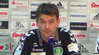 Pressekonferenz: THW Kiel - SC DHfK Leipzig, 26.11.16