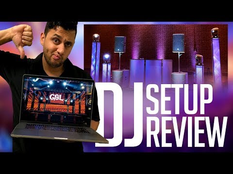 DJ Setup Review: Your MOBILE DJ Setups Need HELP!   Setup Critic And Easy Ways To Improve Them