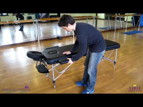 Massage Imperial® - Mayfair Massage Table by Massage Imperial - Demo