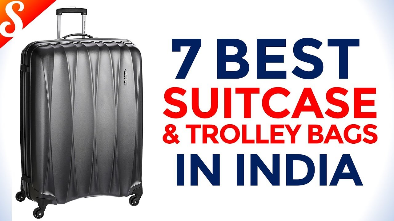 7 Best Suitcase Trolley Bags And Luggage In India With Price