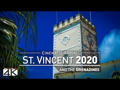 4K Drone Footage SAINT VINCENT AND THE GRENADINES [DJI Phantom 4]