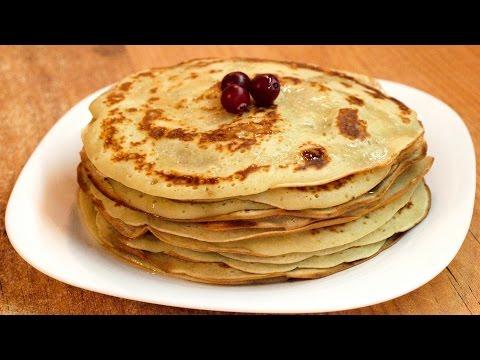 Как приготовить Банановые оладьи - рецепт панкейков / How to cook Banana pancakes ♡ Eng.subtitles