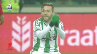 Atiker Konyaspor 2-1 Ümraniyespor Maç Özeti HD (5 Şubat 2017) A Spor