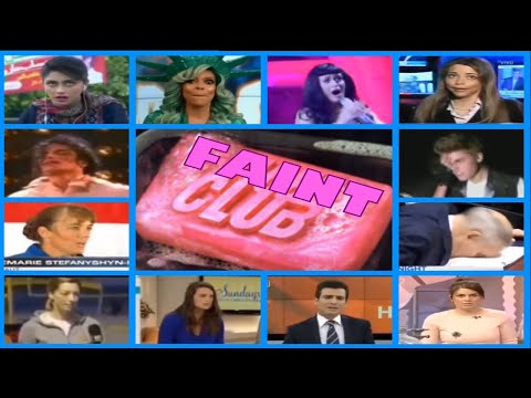 Wendy Williams only joined FAINT CLUB-Here's 100 more FAINTING PEOPLE on Live TV PT1