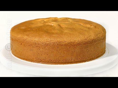 Blat de tort cu vanilie | JamilaCuisine