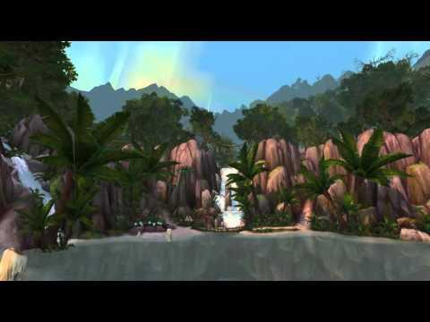 Relaxing World of Warcraft scenery - Sholazar Basin
