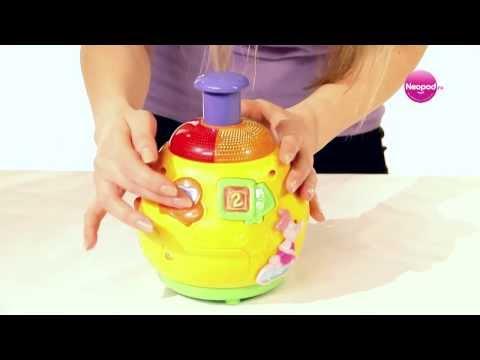 Обзор игрушки «Обучающая юла Винни» Vtech  Магазин игрушек Neopod Ru