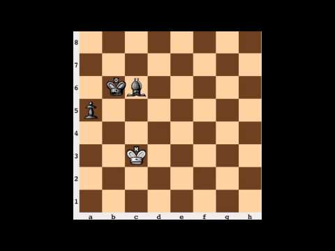 Chess Endgame: Rook Pawn + Bishop of Wrong Color
