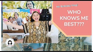 My Birthday Vlog!! Who Knows Me Best! | Mariel Padilla
