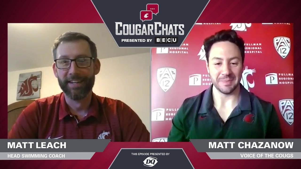 Image for WSU Athletics: Cougar Chats with Coach Matt Leach webinar