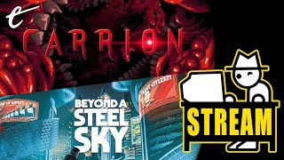 Yahtzee and Jack Play Carrion & Beyond A Steel Sky | Post-ZP Stream
