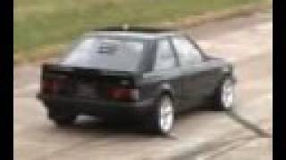 Fastest XR3 in the world RS Cosworth P8 Anti lag Water injection Coilpack FWD FORD OddKidd Creations