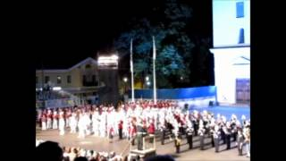 "The Royal Swedish Navy Cadet Band at ""Massband"" at Eksjö International Tattoo 2012"
