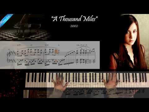 A Thousand Miles  Vanessa Carlton  Piano Solo