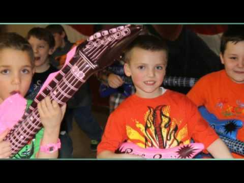 Oshkosh Kids Party DJ | Warren & Braylon's Rock Star Party!