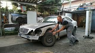 Ремонт Mercedes Benz CLK  W 208 или W208 пи3Dец!