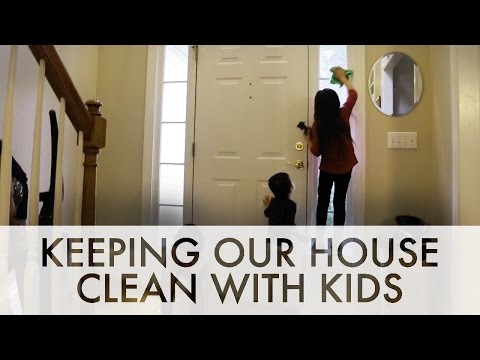 How We Keep Our House Clean with a Big Family