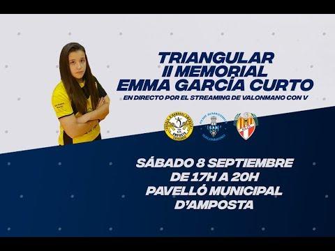 Balonmano Almassora VS CH Sant Joan Despí | II Memorial Emma García Curto