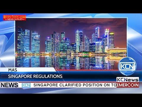 KCN Monetary Authority of Singapore regulates token sale