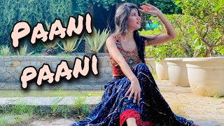 Paani Paani -Badshah - Aastha Gill    Dance cover    Ashima Saxena