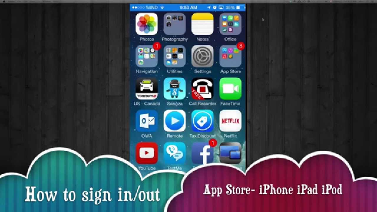 app store for iphone how to log out sign in different apple id app iphone 13409