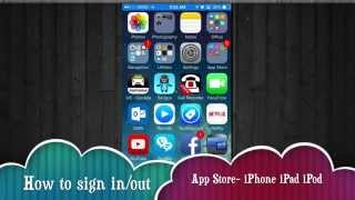 Gambar cover How to log out sign in different apple id app store iPhone iPad iPod