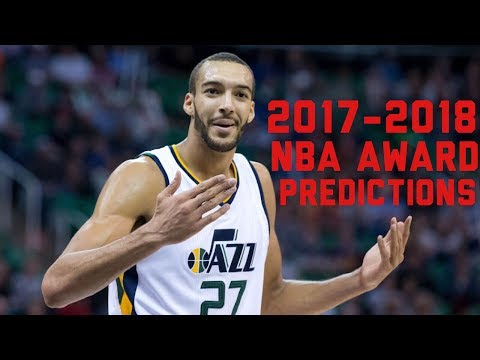 2017-2018 NBA Awards Predictions