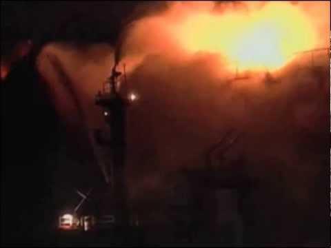 OIL TANKER EXPLOSION - ISTANBUL TURKEY 13.02.1997