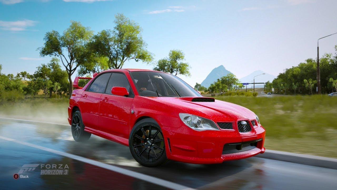 Baby Driver Subaru >> Forza Horizon 3| 2005 SUBARU IMPREZA WRX STI [BABY DRIVER ...