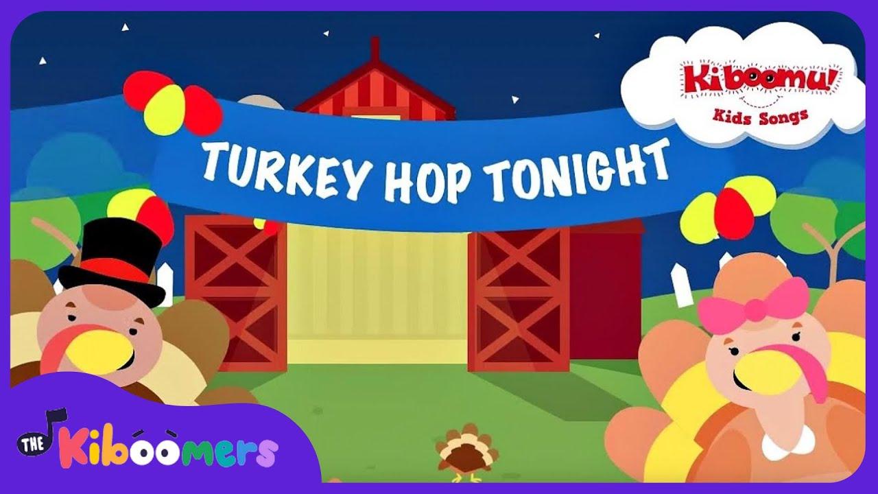 Do The Turkey Hop | Turkey Hop Song | Preschool Songs | The ...