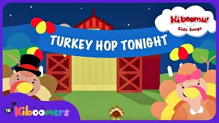 Do The Turkey Hop Song |  Thanksgiving Song for Children