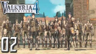 Valkyria Chronicles 4 PC Gameplay Walkthrough Part 2 - Liberation of Reine!