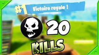 20 KILLS POUR UN TOP 1 EN SOLO SUR FORTNITE !!