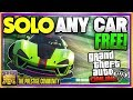 *SOLO* How To Get ANY CAR For Free Using These TWO EASY GTA 5 Money Glitches 1.41 (Free Cars Glitch)