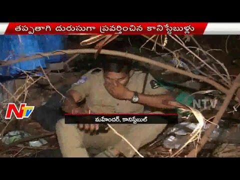 Drunken Police Hulchul at Gandhi Hospital
