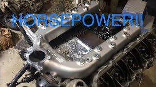 *RACE TRUCK BUILD* PORTED INTAKE MANIFOLD!! 6.0 AIRFLOW! Ep.19