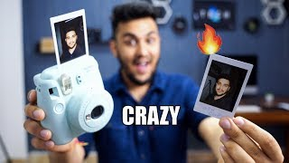 THIS IS SO COOL : Unboxing Fujifilm Instant Camera