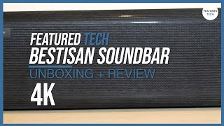Best Affordable Soundbar - Bestisan Soundbar UNBOXING + REVIEW - Best Soundbar 2020 Worth Buying?