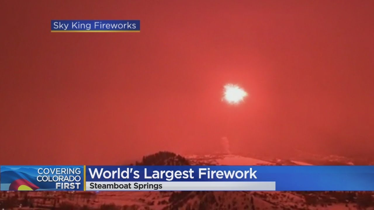 World Record For Massive Firework Launch Set In Steamboat Springs