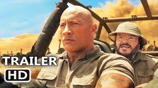 JUMANJI 3 Trailer # 2 (NEW 2019) Dwayne Johnson, Kevin Hart, Next Level Movie HD