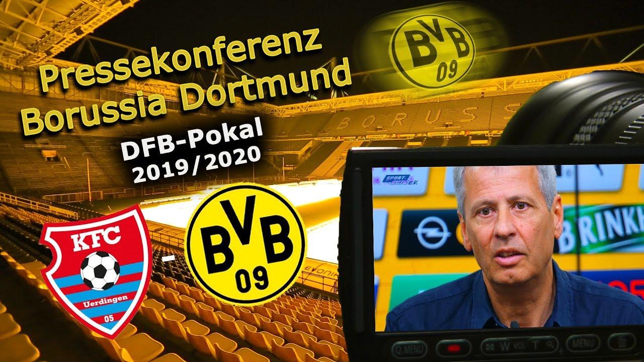 KFC Uerdingen - Borussia Dortmund: Pk mit Lucien Favre