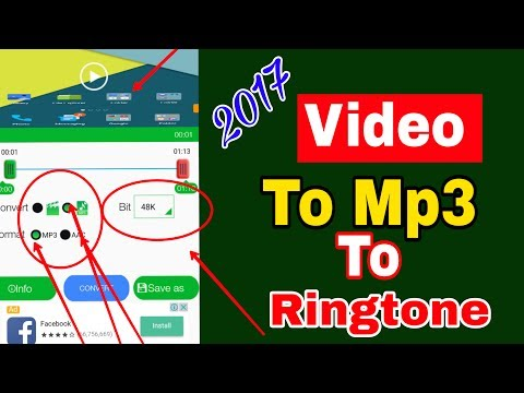 Video to audio converter and mp3 cutter | Ringtone maker | ভিডিও to অডিও to রিংটন তৈরি করুন মোবাইলে
