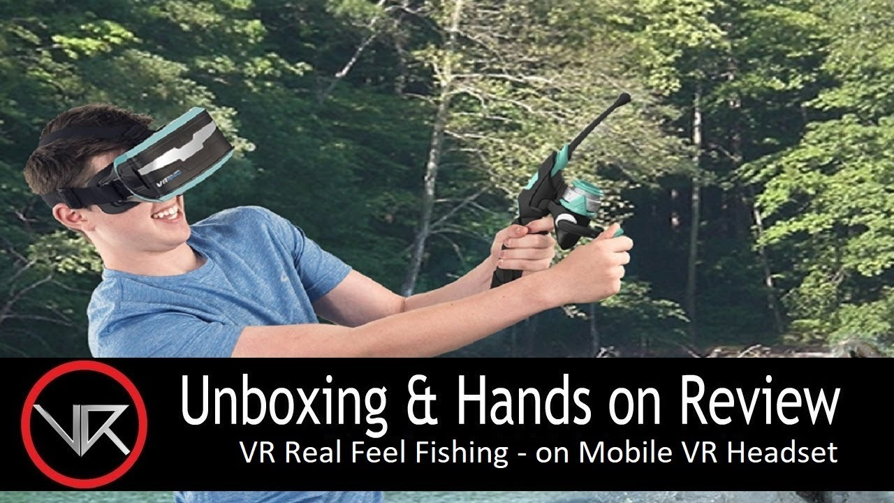 The VR Shop - Unboxing & Hands on Review - VR Real Feel Fishing