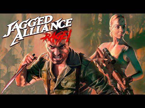 Jagged Alliance: Rage - Surviving Rebel Base Defense, Super Soldiers, AI Turn Stuck |