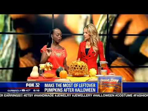Purpose Your Pumpkins FOX Chicago News 10/30/13