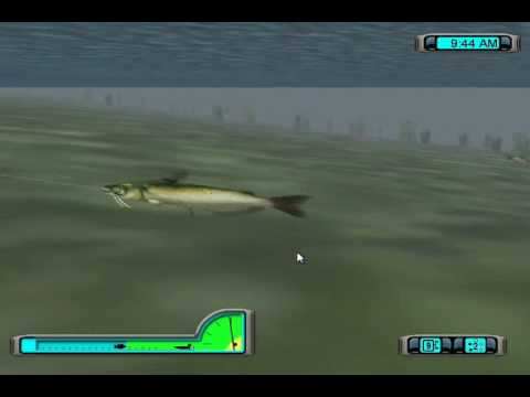 Epic catfish fight in pro bass fishing 2003 youtube for I fish pro