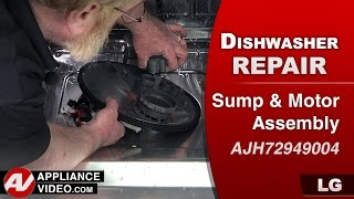 LG dishwasher - not draining water - Repair & Diagnostic Video