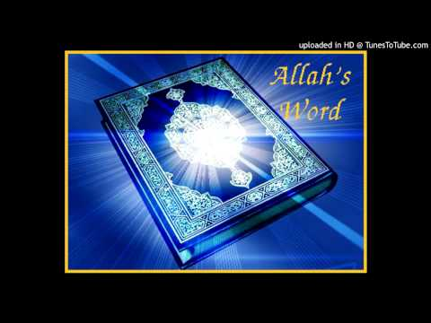 Surah 001 al-Fatihah (Åbningen)