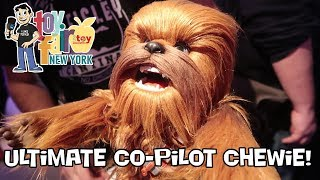 Star Wars Ultimate Co-Pilot Chewbacca Demonstration from Hasbro at Toy Fair 2018